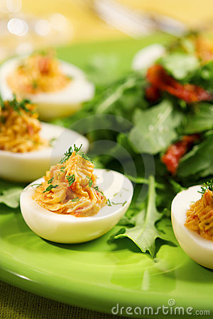 Free Deviled Eggs Royalty Free Stock Photo - 5153465