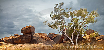 Devils marbles Australia Northern territory