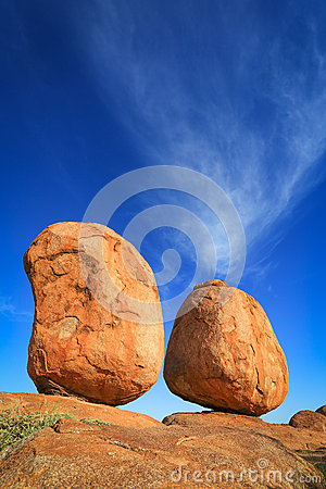 Free Devils Marbles , Northern Territory Australia Royalty Free Stock Images - 25935939