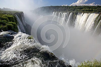 Devils Throat Gorge at Iguazu Falls