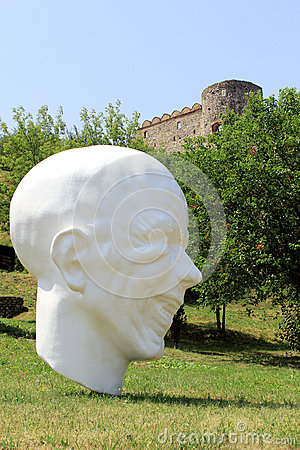Devin castle near Bratislava. Slovakia Editorial Photo