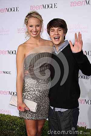 Devon Workheiser, Molly McCook arrives at the 8th Teen Vogue Young Hollywood Party - Red Carpet Editorial Photo