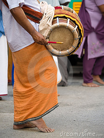 Devotees at Thaipusam Editorial Stock Photo