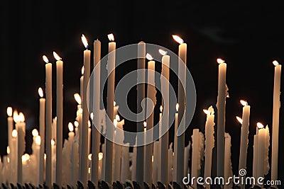 Devotion candles