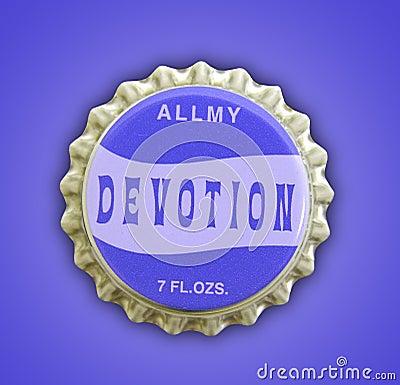 Devotion Themed Bottlecap