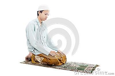 Devotion to pray