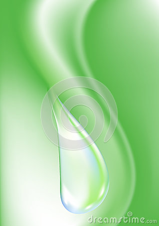 Dew drop vector illustration