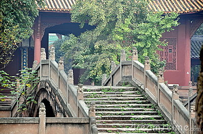 Deyang, China: Pan Bridge at Confucian Temple