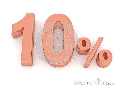 Dez por cento