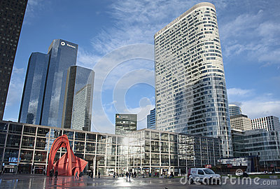 Défense - Paris Editorial Photo