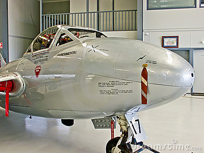 DH-115 Vampire T35 - Front Editorial Photo