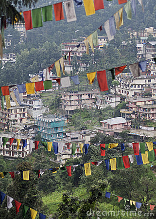 Dharamsala Editorial Stock Photo