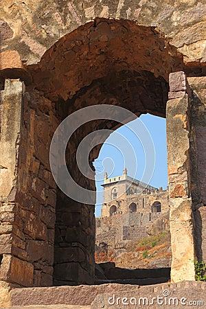 Dharbar Hall, Golconda Fort, Hyderabad Editorial Photography