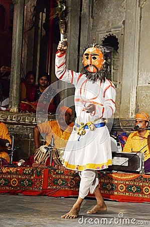 Free Dharohar Folk Dance Performer, Udaipur Stock Photography - 98618082