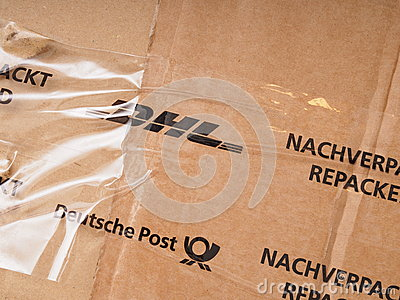 DHL and Deutsche Post Editorial Photo