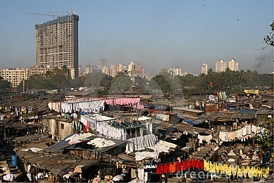 Dhobi Ghats, Mumbai Editorial Stock Photo