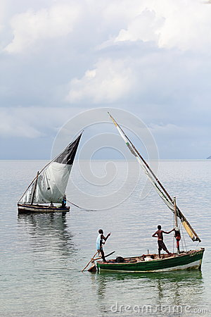 Dhow Editorial Stock Image