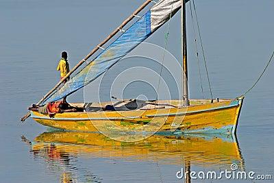 Dhow de Mozambique