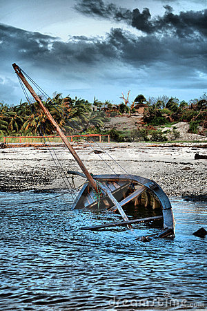 Dhow Sailing boat