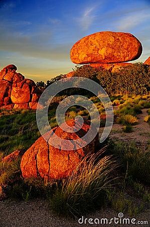Diabeł wykłada marmurem Australia