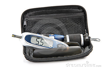 Diabetic Glucometer Blood sugar level testing kit