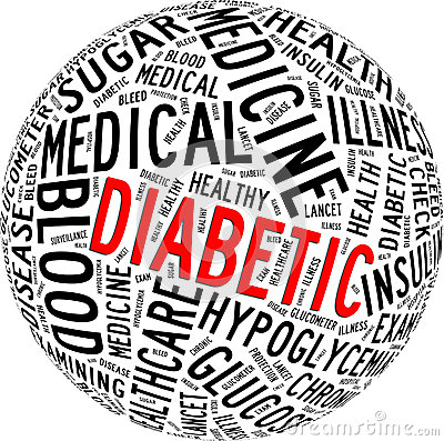Diabetic health care info-text
