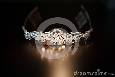 Diadem on the table
