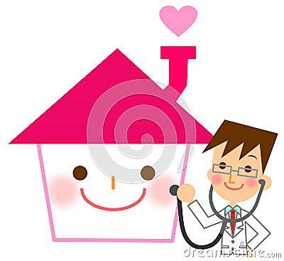 Diagnose des Hauses