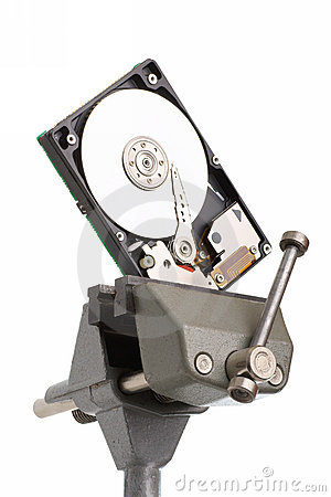 Diagnostic And Repair Magnetic Computer Hard Disk Royalty Free Stock Images - Image: 11765899