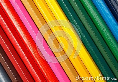 Pencils diagonal