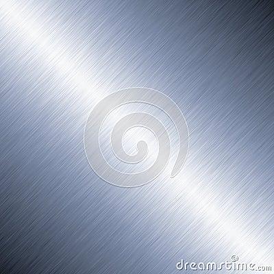 Diagonal Brushed Metal Background