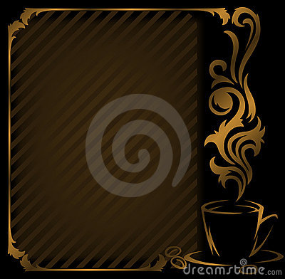 Free Diagonal Coffee Frame Stock Images - 18528454