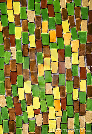 Free Diagonal Colorful Mosaic Texture Royalty Free Stock Images - 17625879