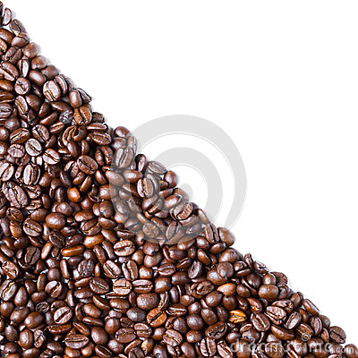 Free Diagonal Form Coffee Bean Stock Image - 28502591