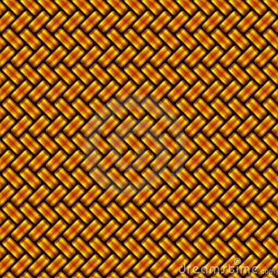 Diagonal golden pattern