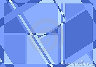 Diagonal Lines Pattern in Blue