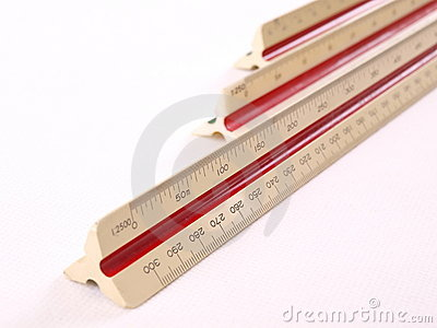 Diagonal Scale Ruler Array Long