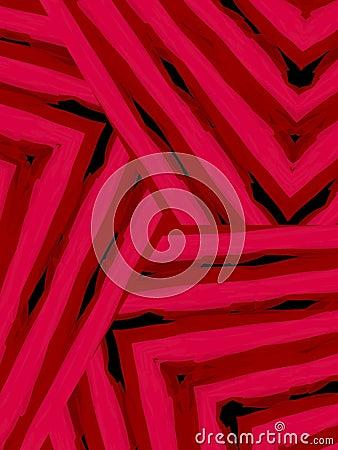 Diagonal Striped Lines Pattern