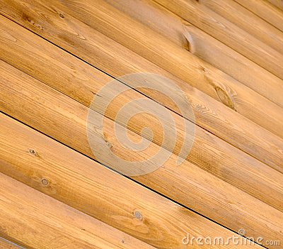 Diagonal Wood Planks as Background