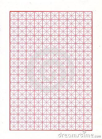 diagonales rotes zeichenpapier mit ma einteilung lizenzfreie stockfotografie bild 22810927. Black Bedroom Furniture Sets. Home Design Ideas