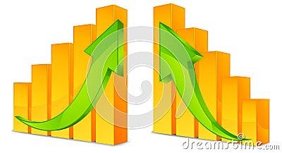 Diagram with arrows