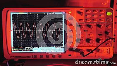 Diagrama técnico, exposição eletrônica 4k video estoque