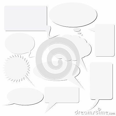 Dialogue boxes