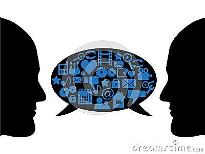 dialogue rencontre entre deux amis Alès