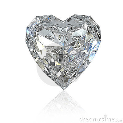 Diamante a forma di del cuore immagini stock libere da for Soggiorno a forma di diamante