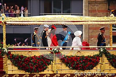 Diamentowego jubileuszu królowa s Zdjęcie Editorial