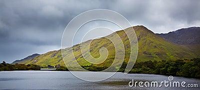 Diamon Hill and Kylemore lake