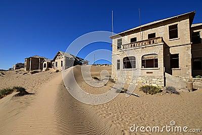 Diamond area Kolmanskop