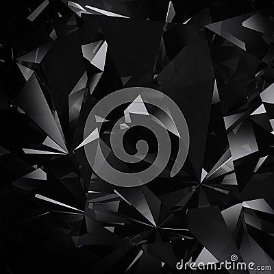 Diamond black background
