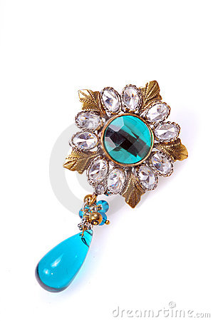 Diamond brooch jewellery